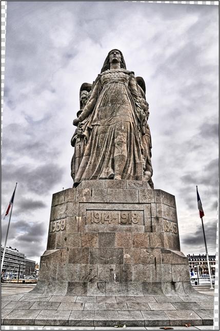 """Etape par étape... HDR du """"Monument aux Morts"""". 006"""