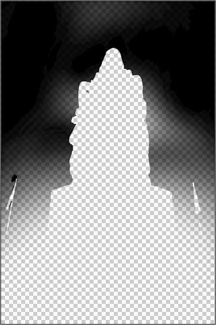 """Etape par étape... HDR du """"Monument aux Morts"""". 009"""