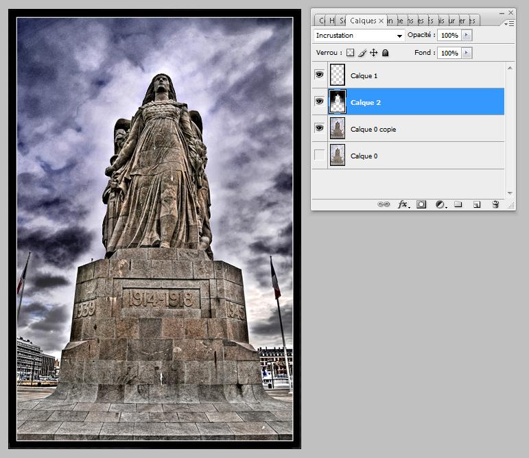 """Etape par étape... HDR du """"Monument aux Morts"""". 012_FINAL"""
